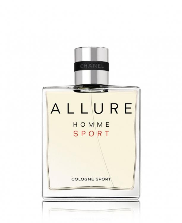 Allure Homme Sport Cologne, CHANEL с нотами цитрусоввых, альдегидов, перца и еловой смолы