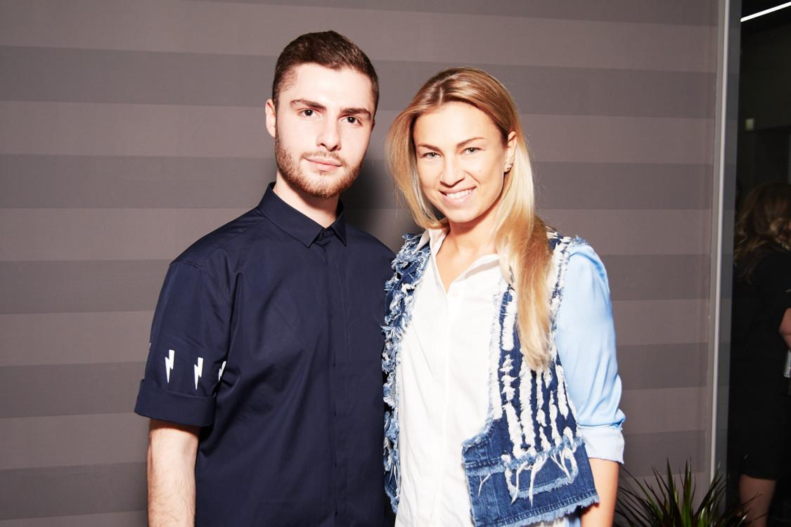 Ладик Костандян и Яна Бучко