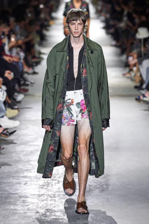 Dries van Noten Menswear весна-лето 2020