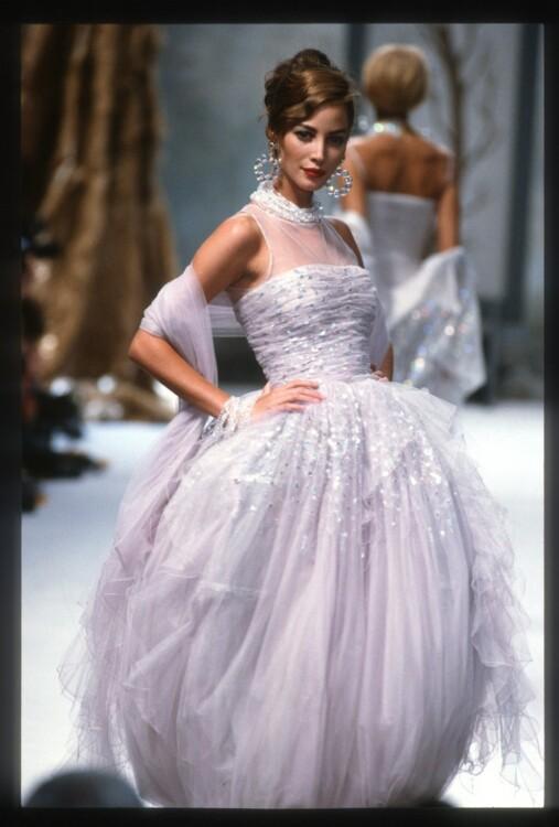 Chanel осень-зима 1991/1992