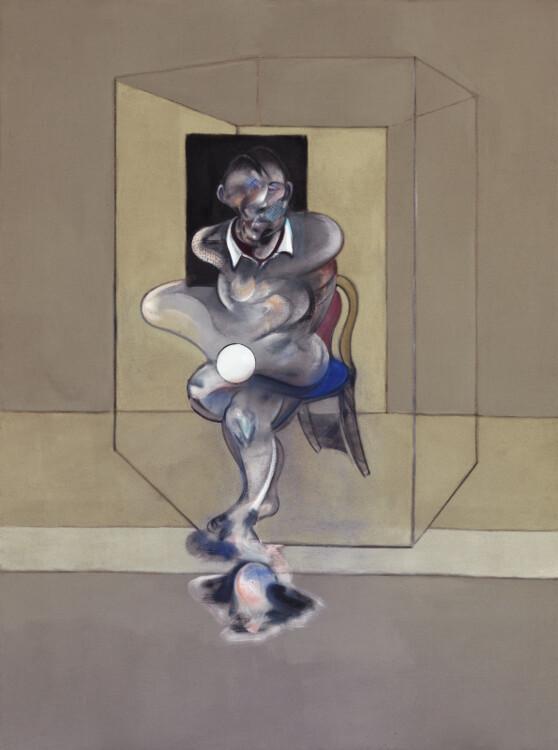 «Набросок для автопортрета», 1976 (Художественная галерея Нового Южного Уэльса, Сидней)