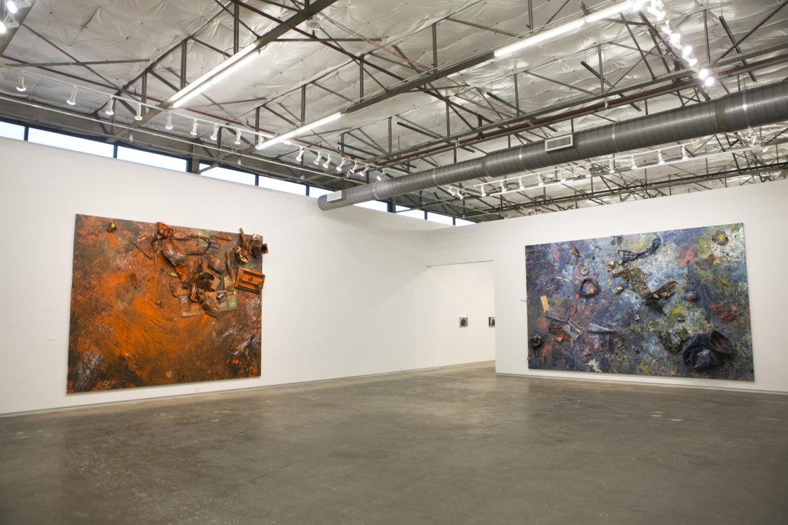 Інсталяція Дена Колена в музеї Dallas Contemporary