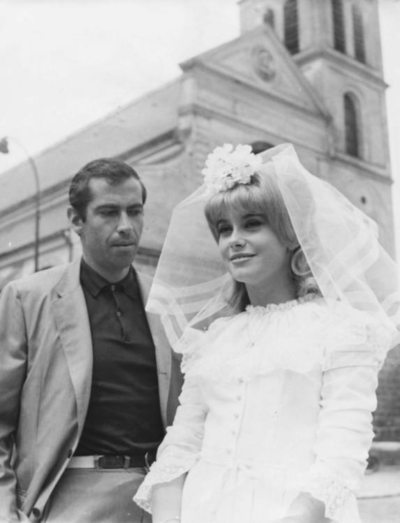 """Катрин Денев в фильме """"Порок и добродетель"""", 1963"""