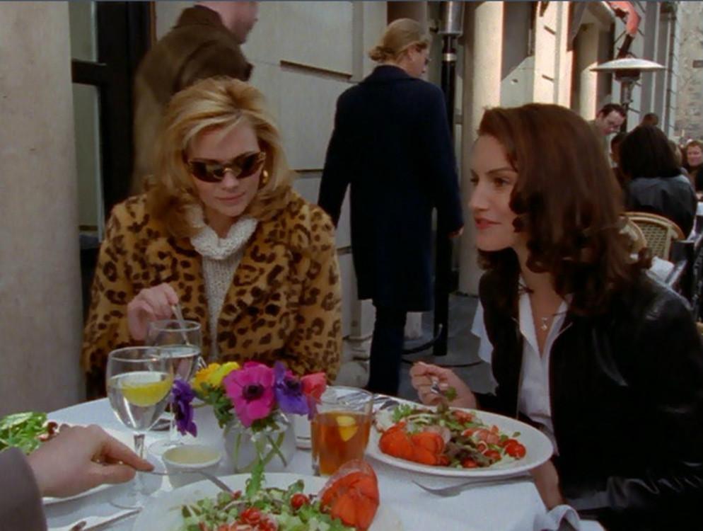 """Кадр из сериала """"Секс в большом городе"""", 2000-е"""