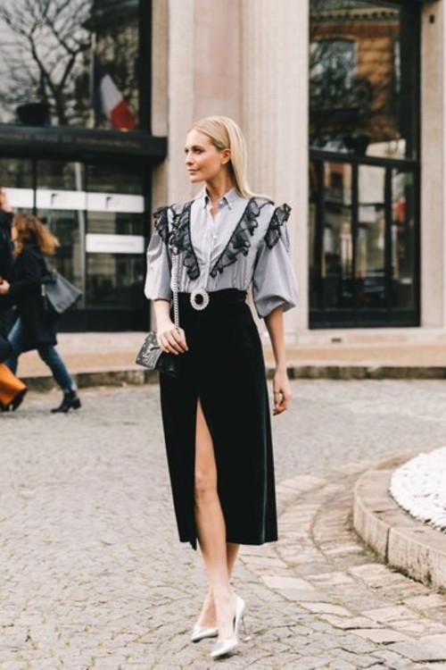 Блузы с рюшами: +20%