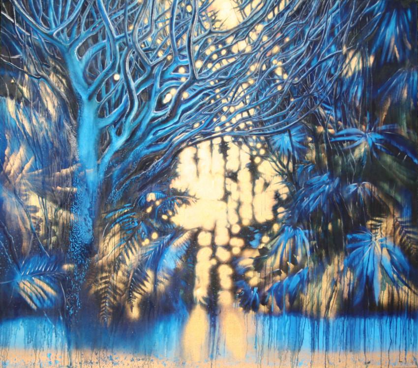 """""""Закат в джунглях"""", 2003"""