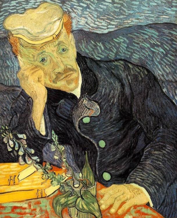 """""""Портрет доктора Гаше"""", 1890, приватна колекція"""