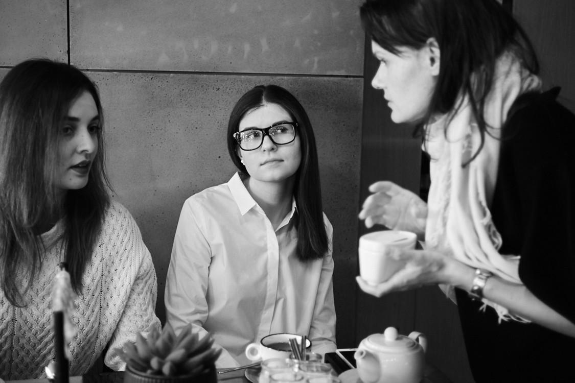 Александра Дмитриевич, Елена Мусейчук и Соня Забуга