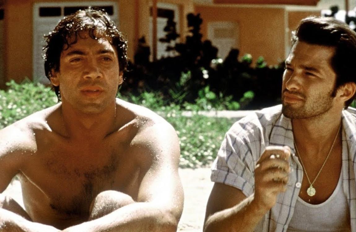 Гав'єр Бардем у фільмі «Поки не настала ніч», 2000