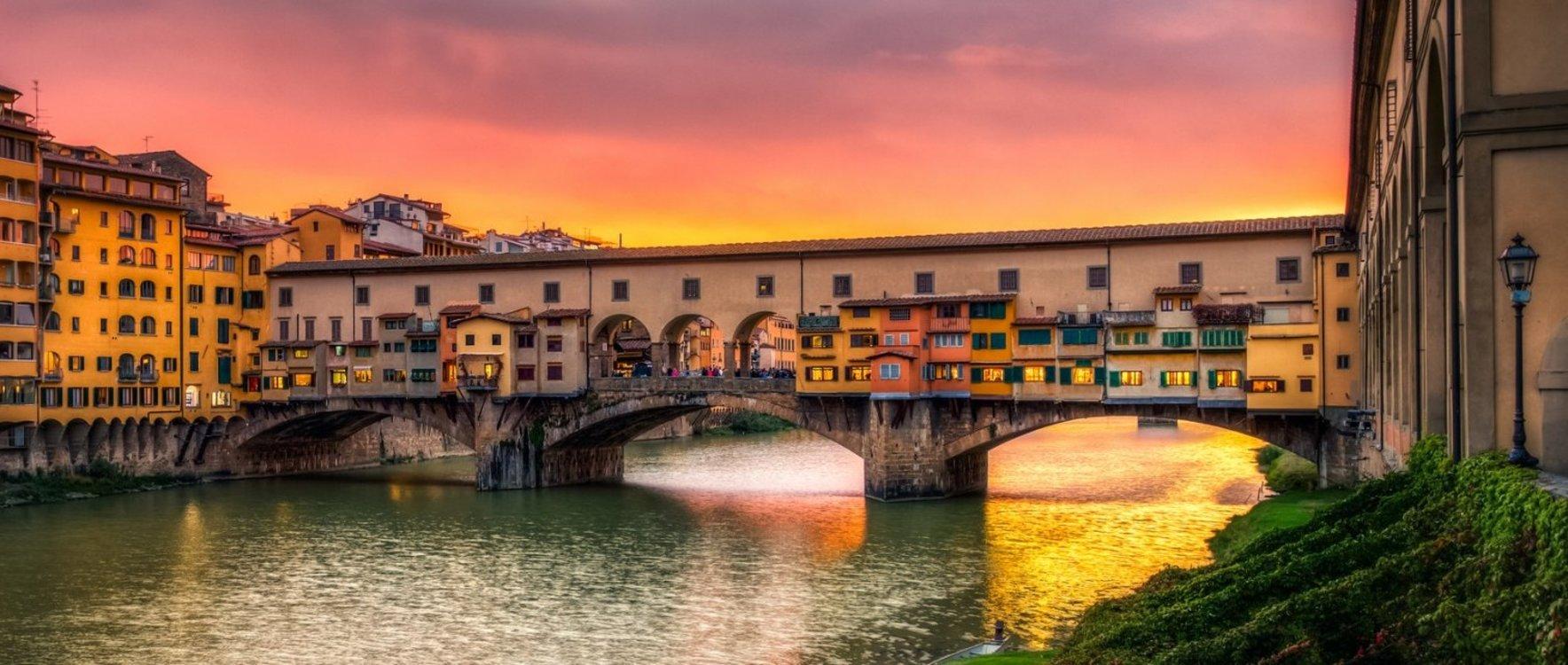 Понте-Веккьо, Флоренция, Италия