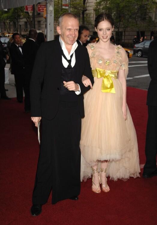 Жан-Пол Готье и Коко Роша в Jean Paul Gaultier, MET Gala 2007