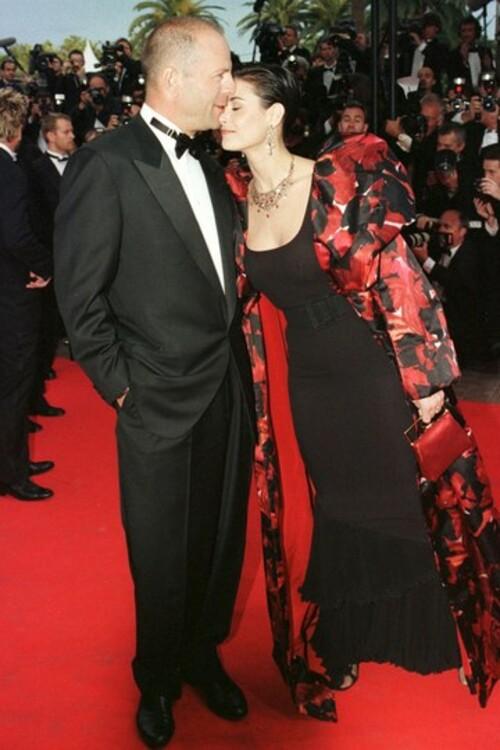 Брюс Вілліс і Демі Мур, 1997