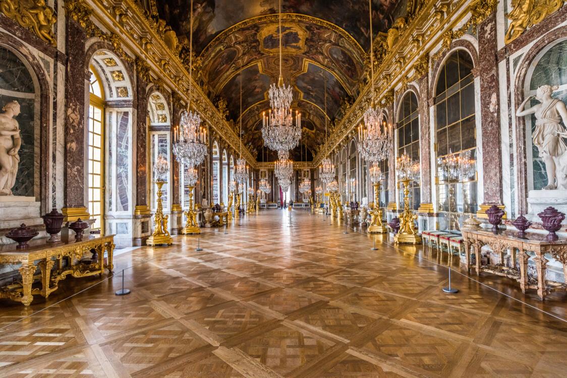 Галерея в Версальском дворце