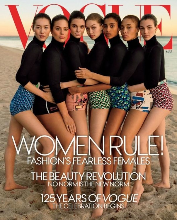 Vogue US, март 2017