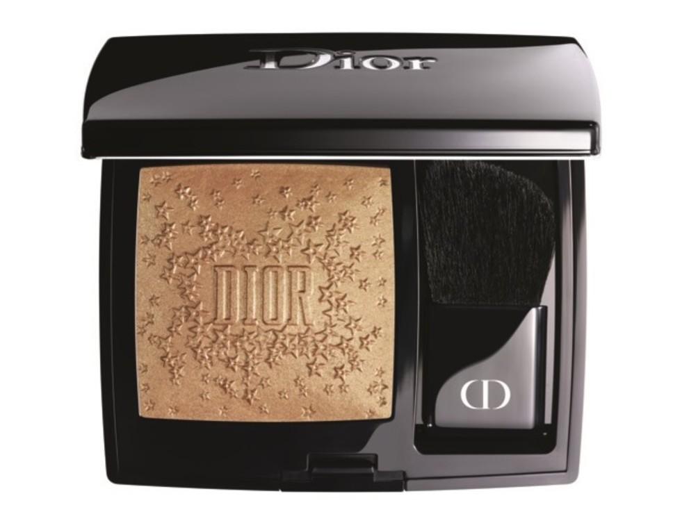 Золота пудра-хайлайтер для обличчя і декольте Rouge Blush Midnight Wish, Dior