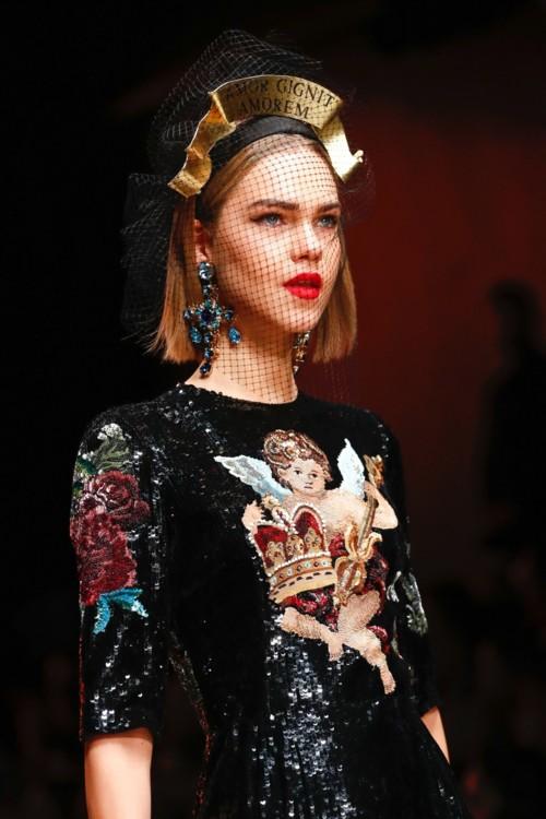 Dolce & Gabbana осень-зима 2018/2019