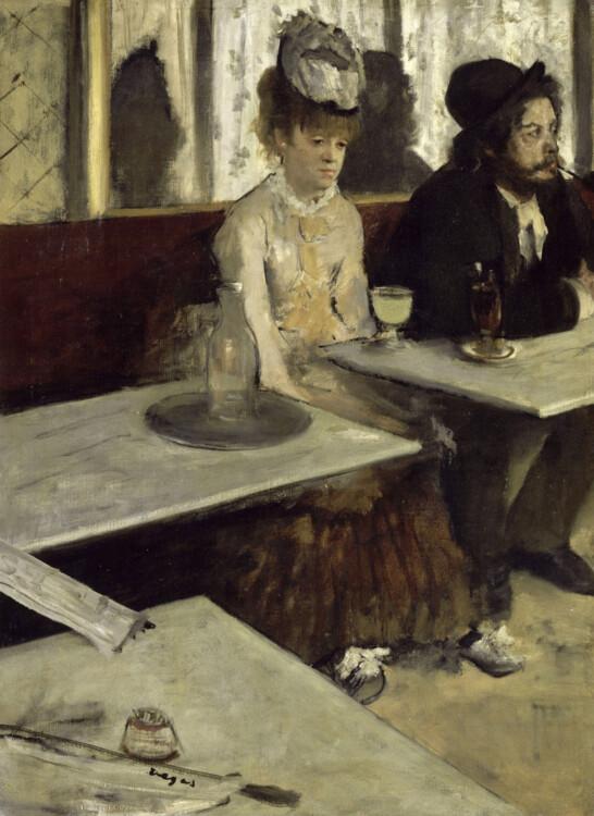 «Абсент (В кафе)», 1873