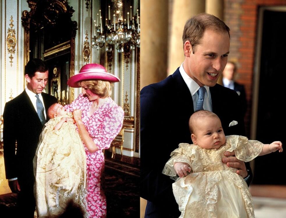 Принц Уильям, 1982 / принц Джордж, 2015