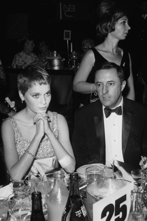 Миа Фарроу и Леонард Герш, 1966