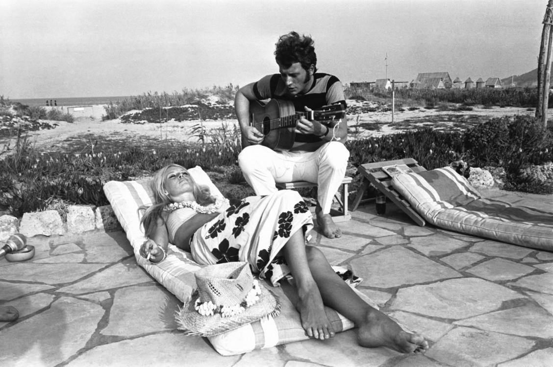 Брижит Бардо и Джонни Холлидей, 1967 год