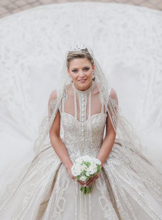 Свадебное платье Кристины Мурад