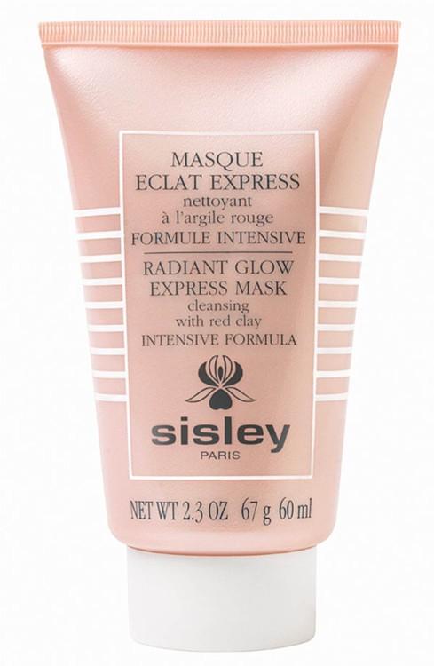 Интенсивная очищающая экспресс-маска с красной глиной для мгновенного сияния кожи Eclat Express Radiant Glow, Sisley