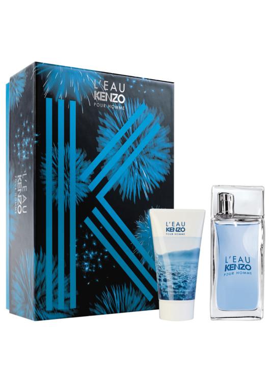 Женский подарочный набор L'Eau Kenzo: парфюмированный гель для душа, туалетная вода, все - Kenzo