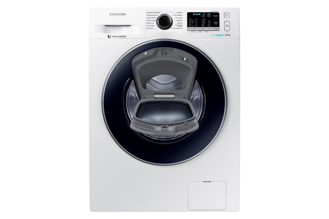 Стиральная машина с технологией Add Wash