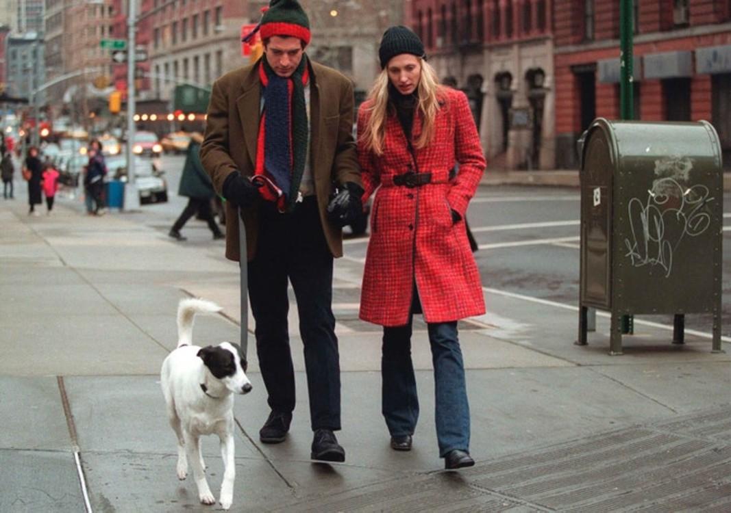 Джон Ф. Кеннеди-младший и Кэролин Бессетт в январе 1997 года в Нью-Йорке