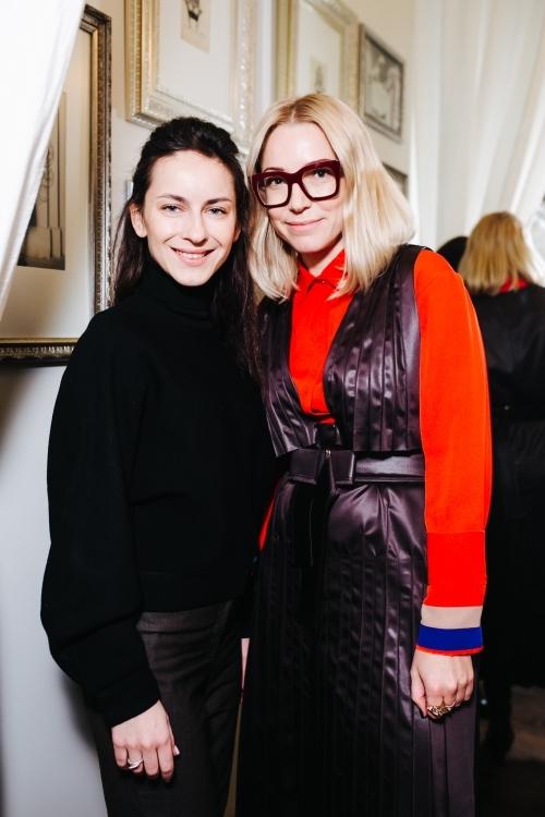 Вероника Селега и Ирина Каравай