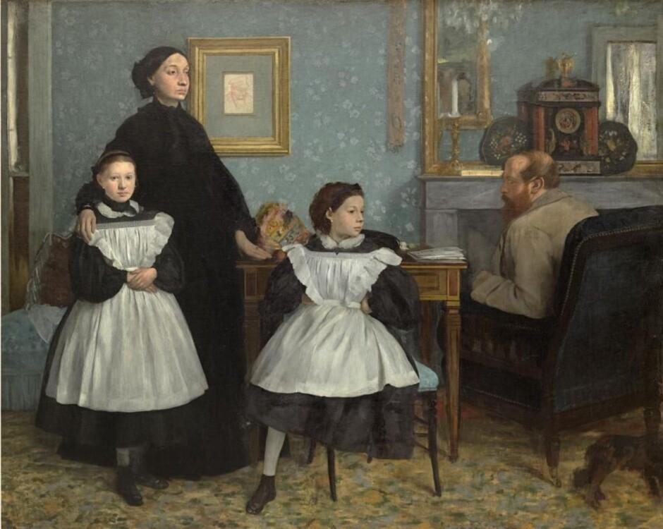 «Портрет семьи Беллелли», 1867