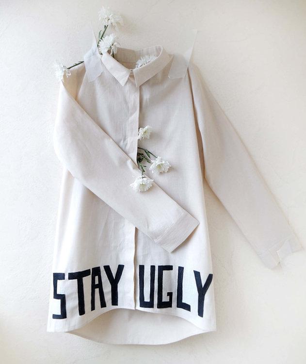 Рубашка Alina Zamanova 'Stay Ugly'
