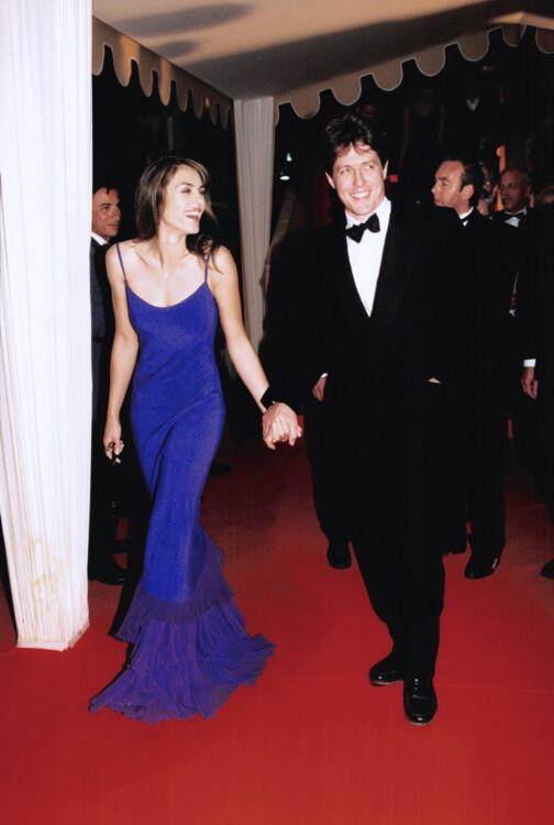 Элизабет Херли и Хью Грант на Каннском кинофестивале, 1997
