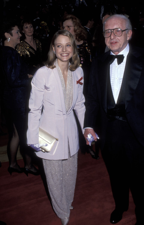 Джуди Фостер на 64-й церемонии вручения премии «Оскар», 1992 год