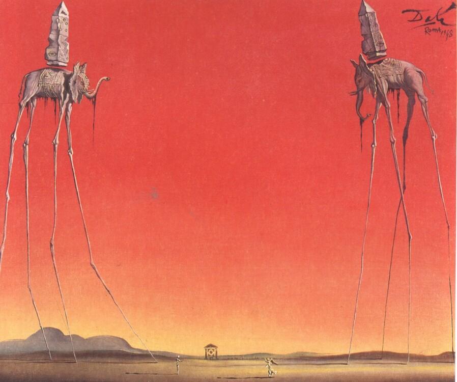 «Слоны», 1948