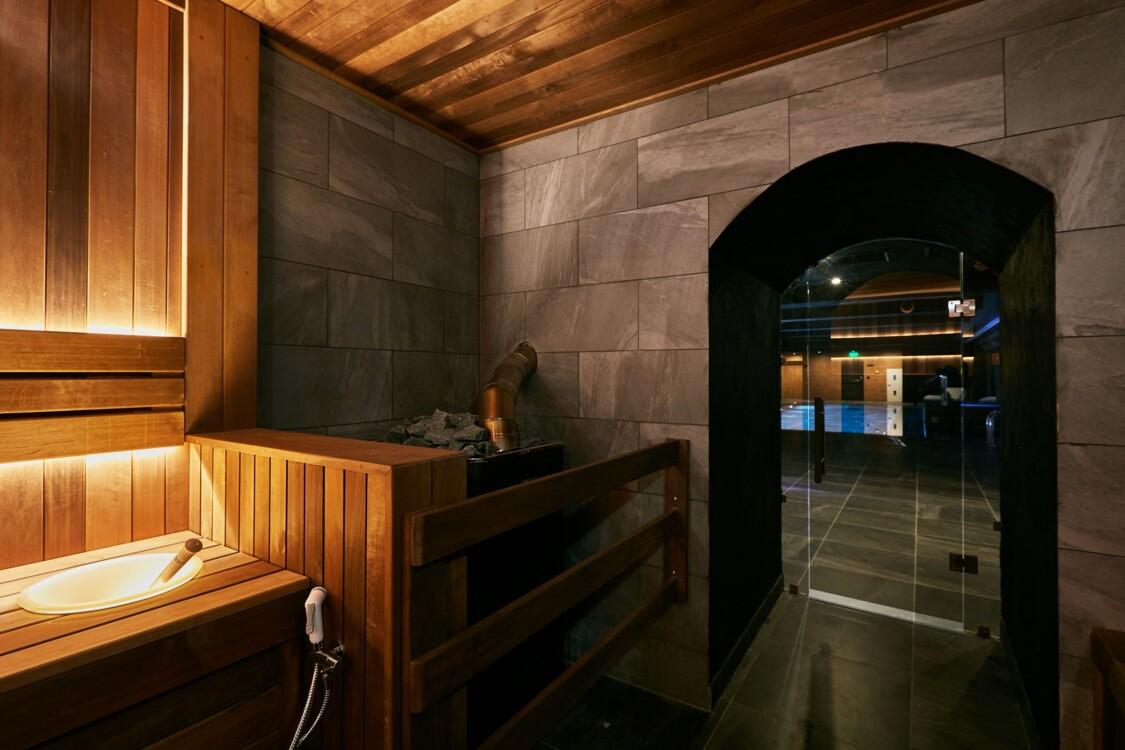 одна из шести саун в Grand Hotel Lviv Luxury & Spa