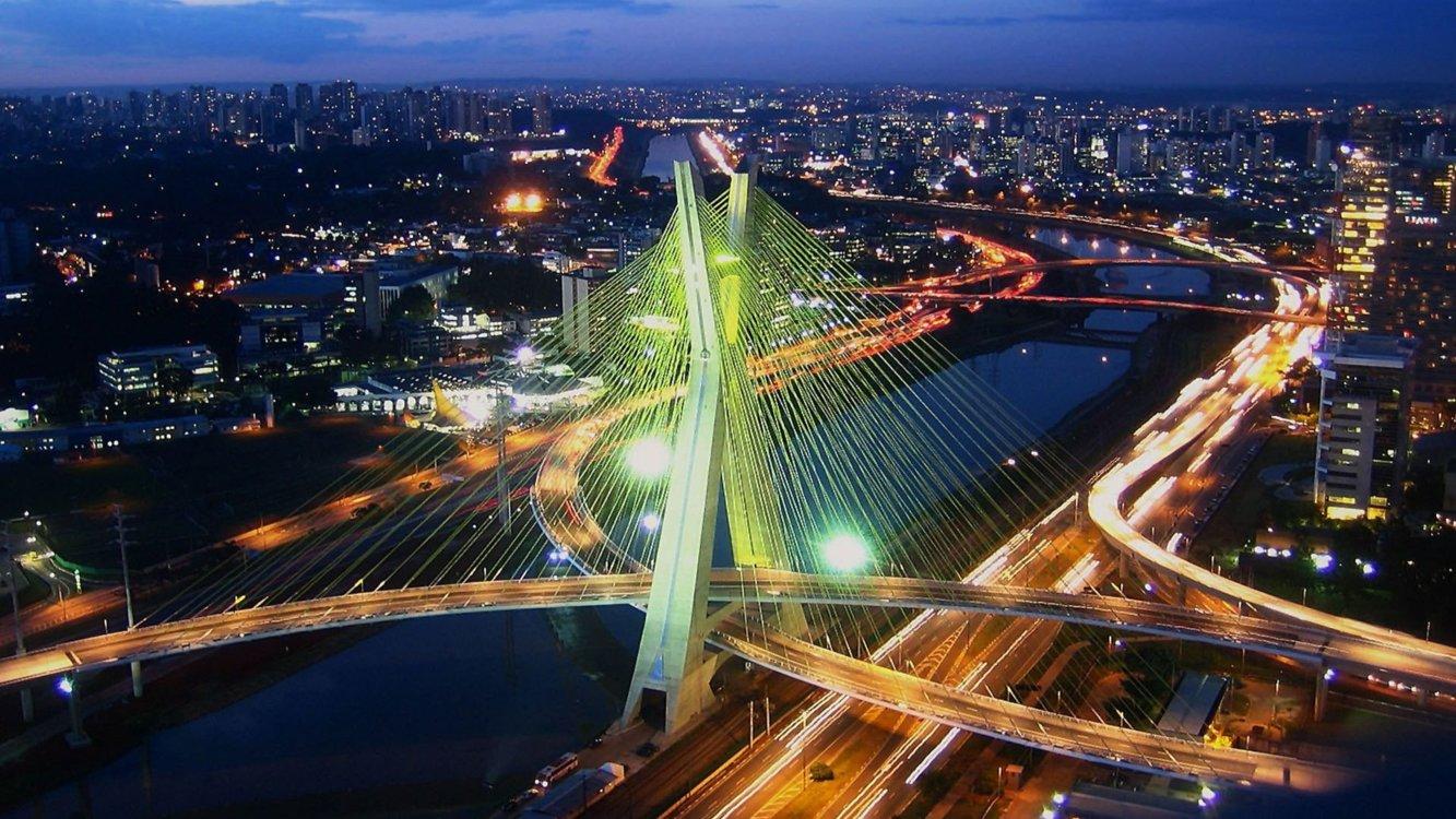 Мост Оливейра, Сан-Паулу, Бразилия