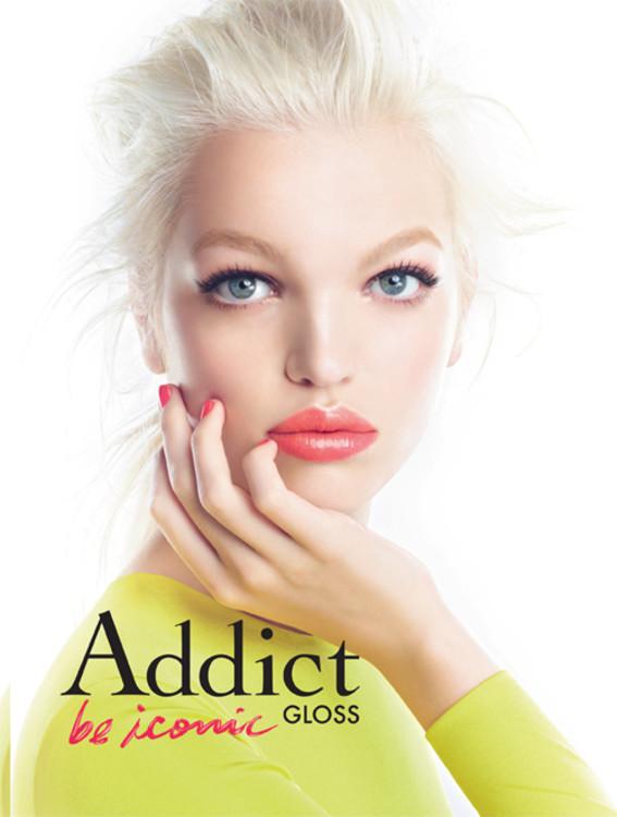 Дафна Гроенвельд в рекламной кампании блесков для губ Dior Addict Lip Gloss
