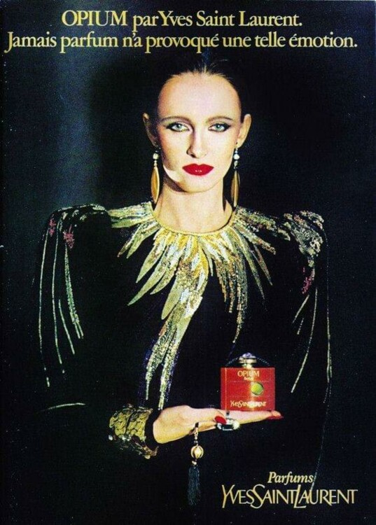 Opium Yves Saint Laurent, 1979