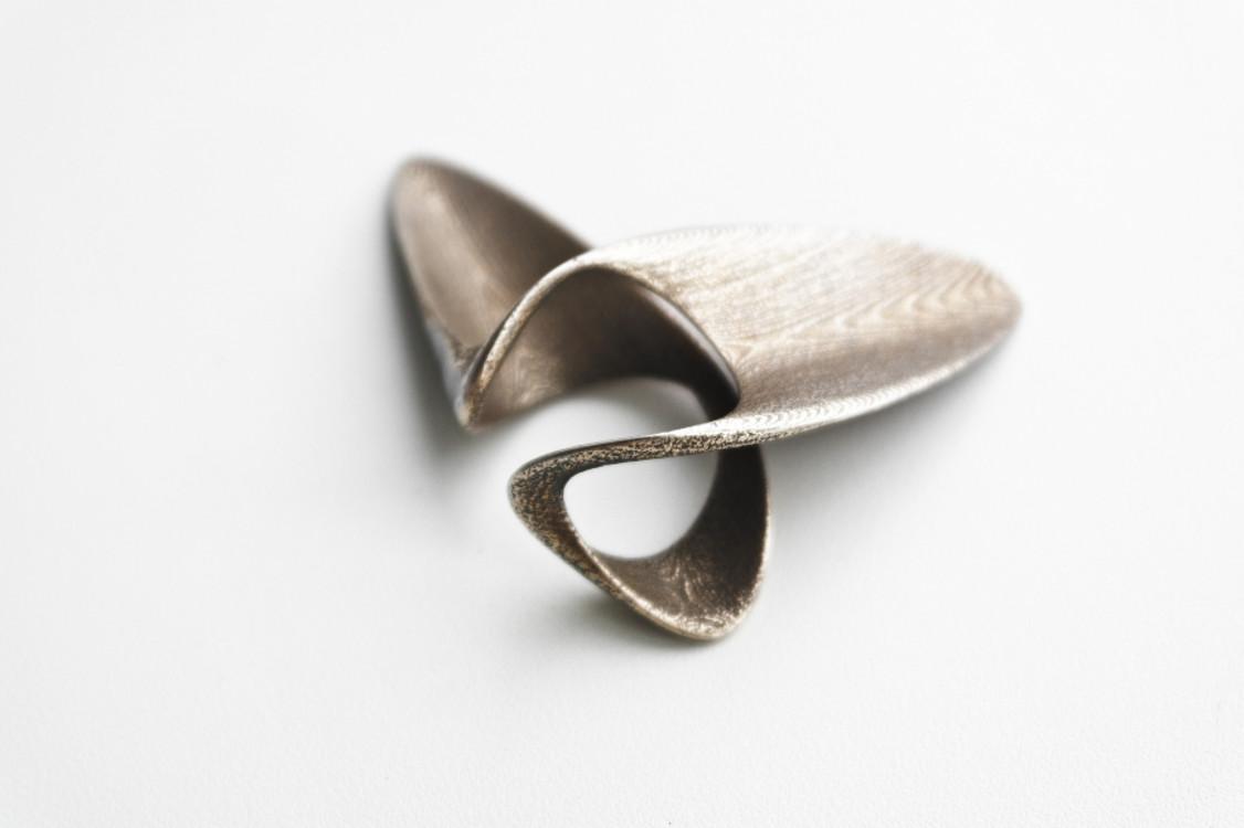 Перстень Ludovico Lombardi, сталь, 2014