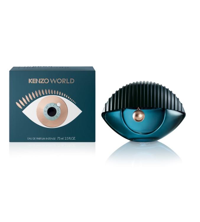 Черная сладкая слива, пион и гурманская ваниль – три кита, на которых держится аромат Kenzo World Intense, Kenzo. Он заключен во флакон «всевидящее око» – символ Дома Kenzo.