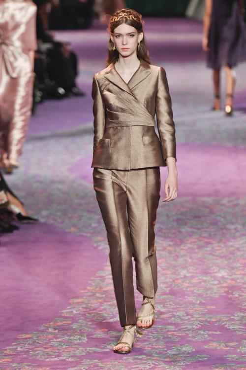 Нана Резніченко на шоу Christian Dior Couture весна-літо 2020