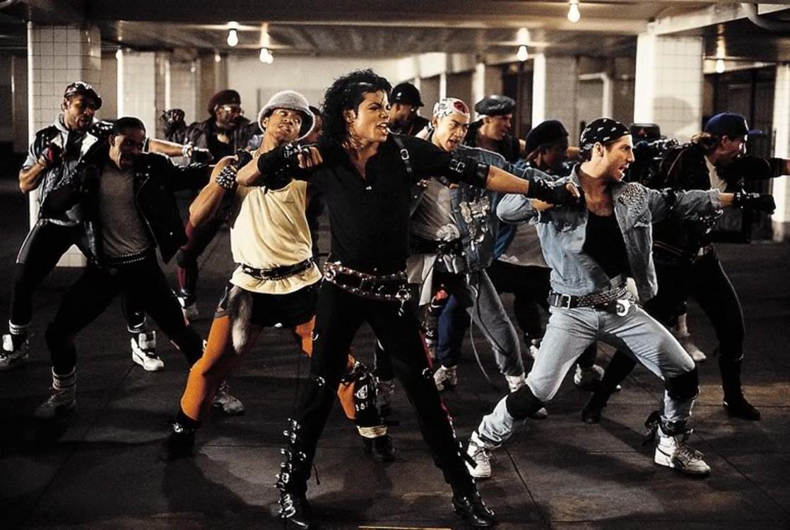 "Майкл Джексон, ""BAD"", 1987"