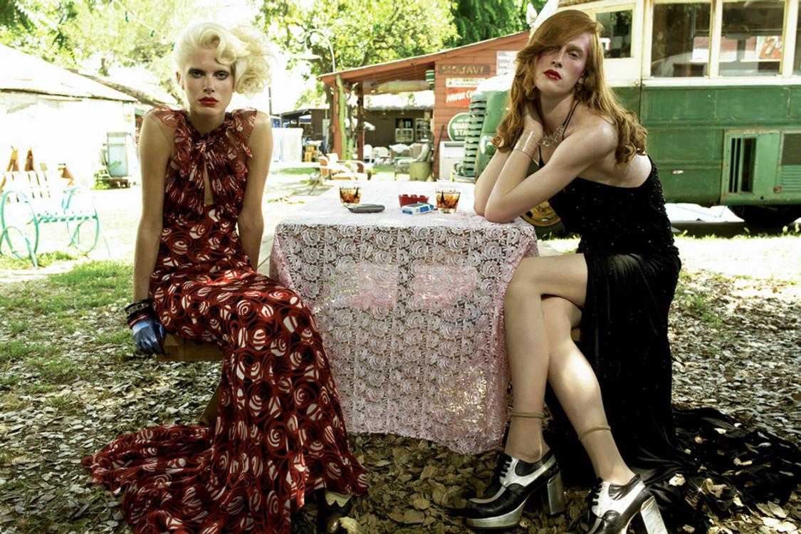Стивел Мейзел, август 2006, Vogue Italia