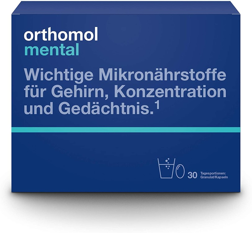 Витамины Mental, Orthomol