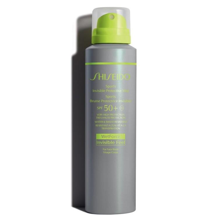 Невидимая дымка-спрей для защиты от солнца Sun Care Sports, Shiseido, SPF 50