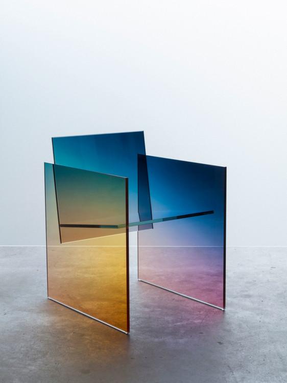 Ombré Glass Chair, STUDIO GERMANS ERMIČS