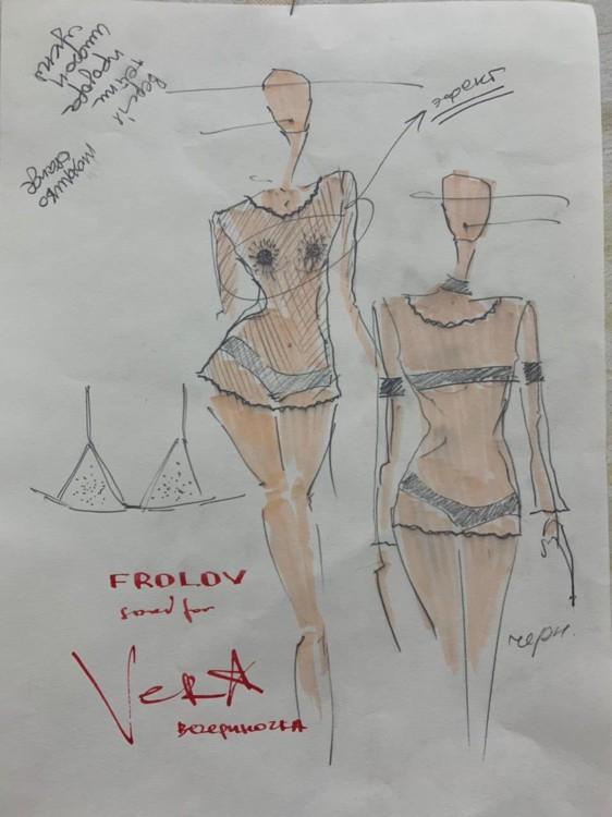 Эскизы костюмов Веры Брежневой