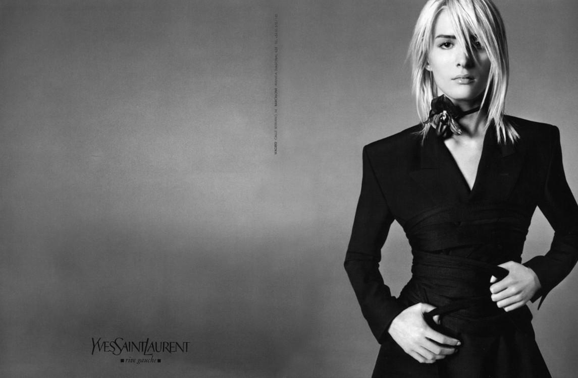 Первая рекламная кампания Тома Форда для Yves Saint Laurent, весна-лето 2001