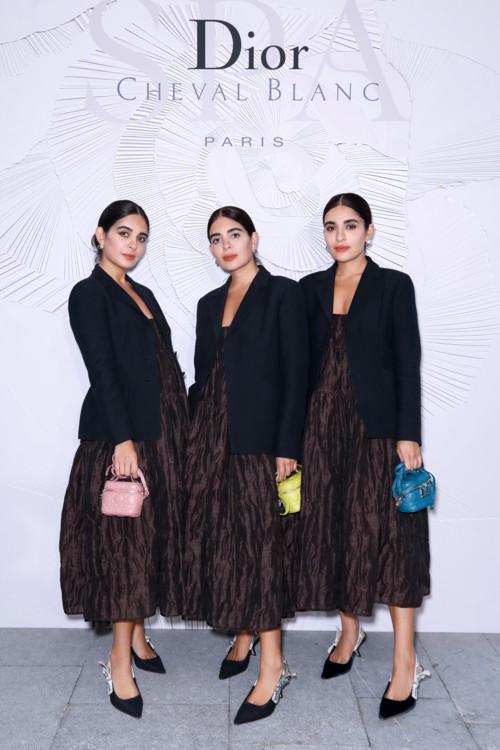Лондонские блогеры The Triplets (Elnaz Tanaz Golnaz Hakkak)